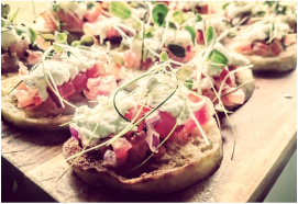 Canapés and team building corporate events